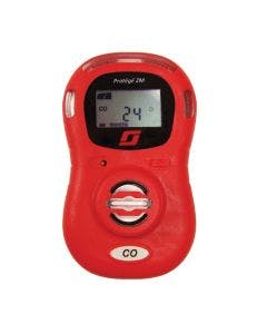 Teledyne GMI Protege ZM Single-Gas Detector - Bright Red with digital display
