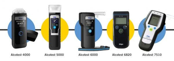 Drager Alcotest Breathalyser Range - What Are The Differences?