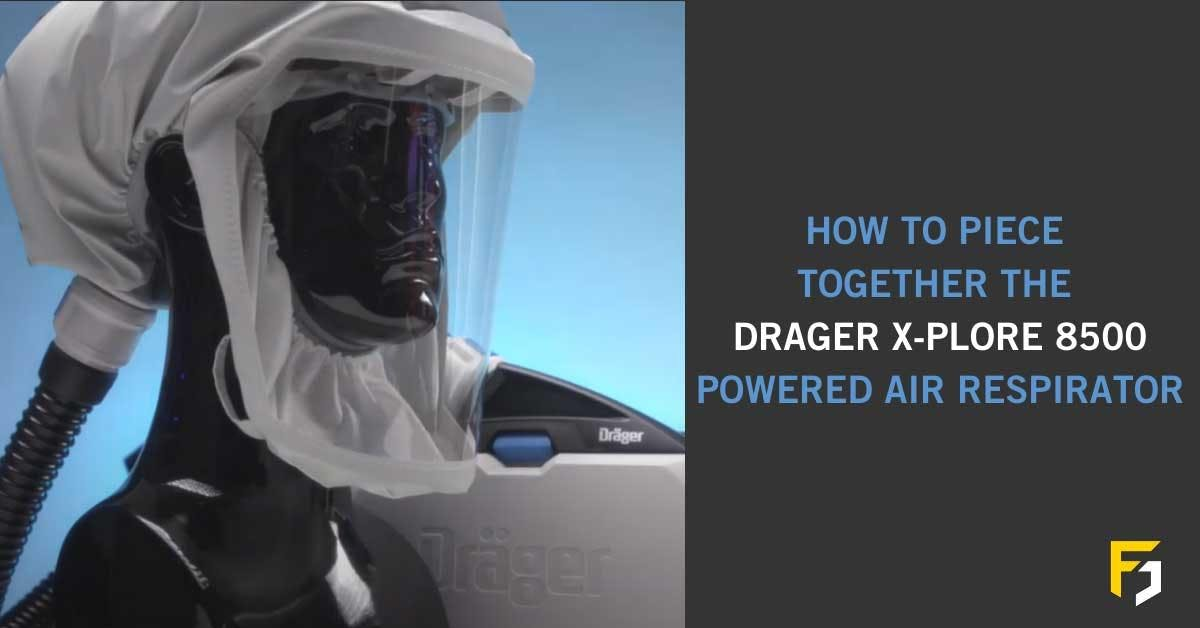 How To Assemble the Parts For the Drager X-Plore 8500 Powered Air Respirator